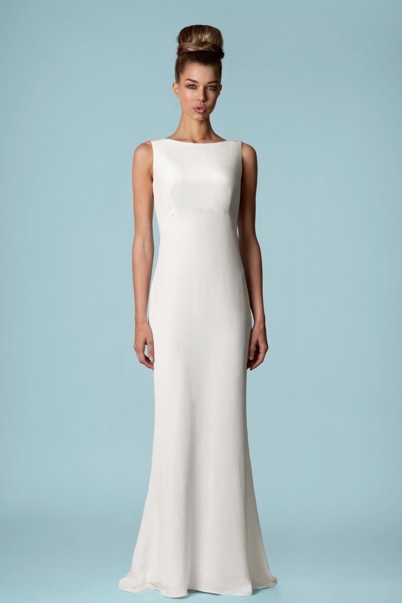 all lh images | tobi hannah short and tea length wedding dresses ...