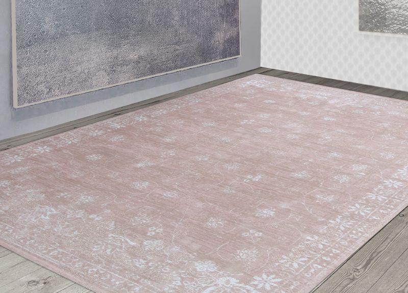 The Cameo Collection Louis De Poortere Swedish Granite 8246 Nordic Furniture Orange Rugs