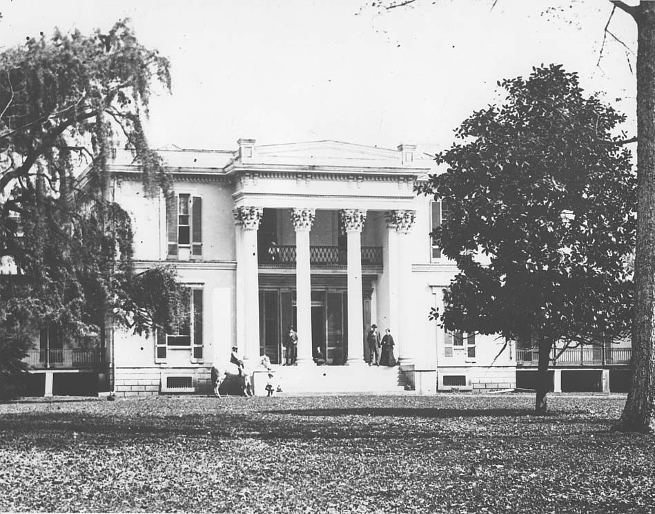 Ashwood Hall. Maury County, TN. Destroyed by fire 1874