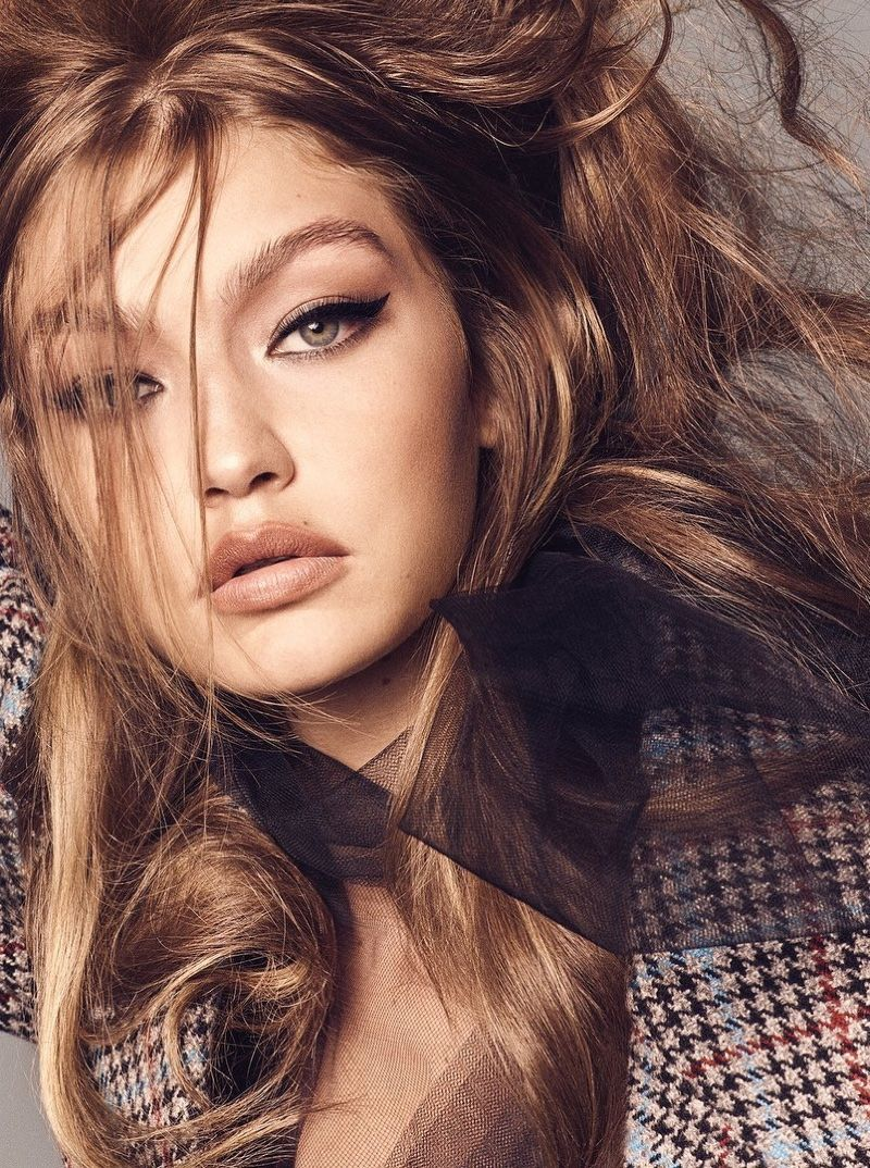 Gigi Hadid Models Rockabilly Style For Vogue Brazil Gigi