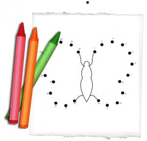 dot to dot printable worksheets - Fun Worksheets For Preschoolers