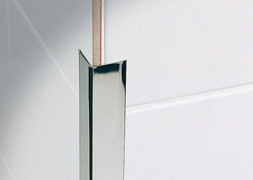 Aluminum Edge Trim For Tiles Outside Corner Keracorner Co Profilitec Tiles Trim Brass