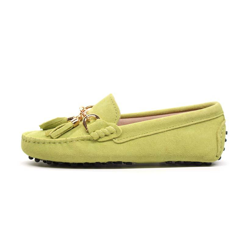 4fcf647c98725 MIYAGINA Women Shoes Cowhide Leather Loafers Moccasins Slip On Flats ...