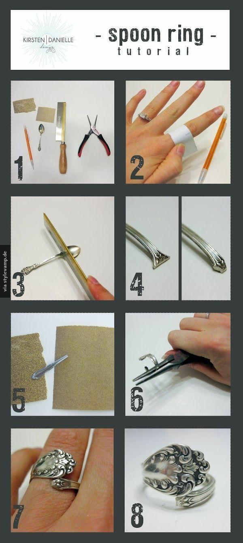 Wunderschöner DIY Ring <3