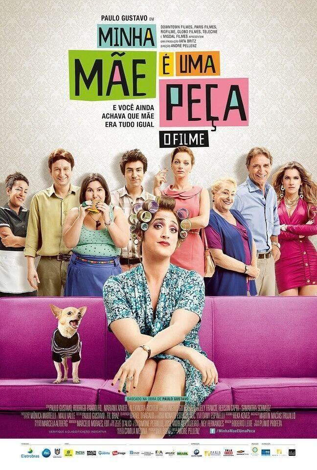 Minha Mae E Uma Peca O Filme Filmes Comedia Filmes