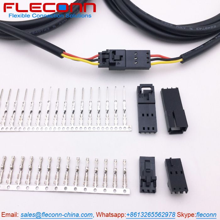 Molex 2.54mm Pitch 70400 Series SL 3 Pin Connector Wire