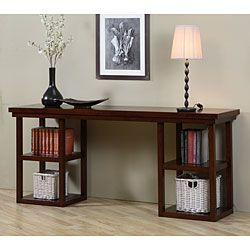 High Quality Walnut Cherry Ladder Console Table   I Want This Or Something About The  Same Scale!