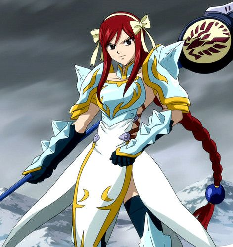 The Fairy Tail Guild Photo: Erza's Lightning Empress Armor ❤❤