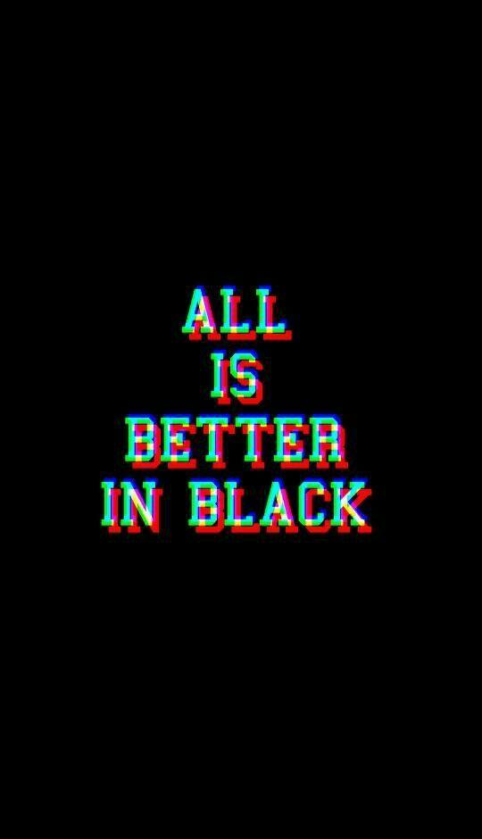 Black Vibe Emo wallpaper, Black wallpaper, Wallpaper quotes