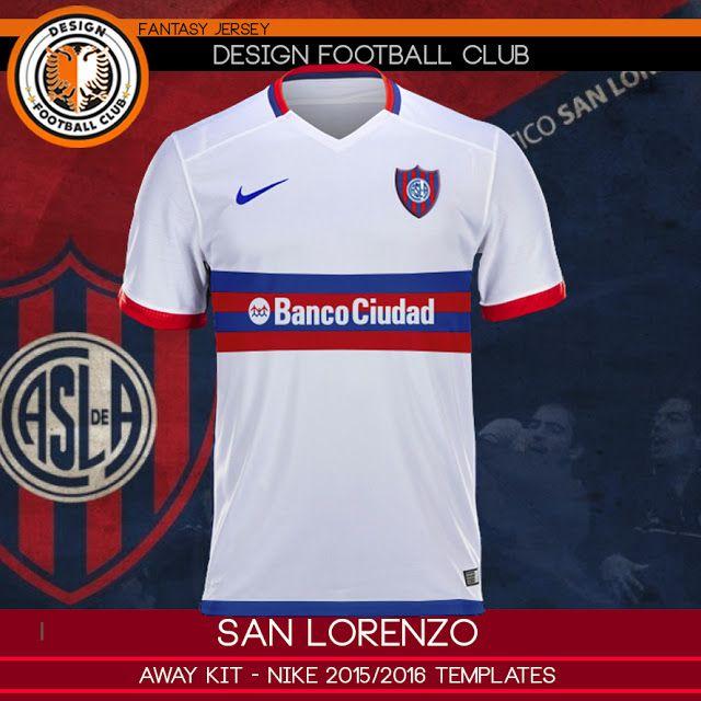 d5a57ca791c Design Football Club  San Lorenzo de Almagro - Nike 2015 2016 ...