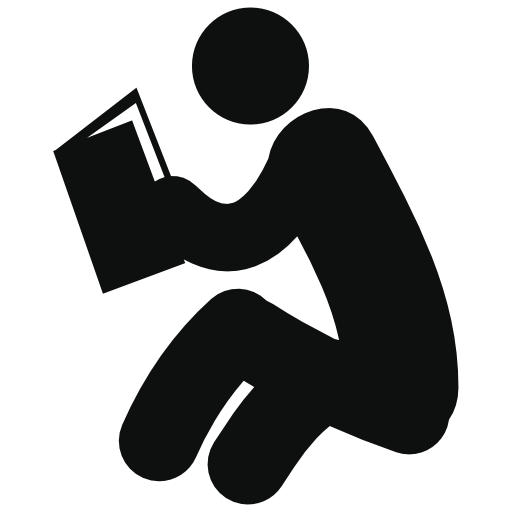 Man Sitting And Reading Book Free Vector Icons Designed By Freepik Books To Read People Icon Free Icons