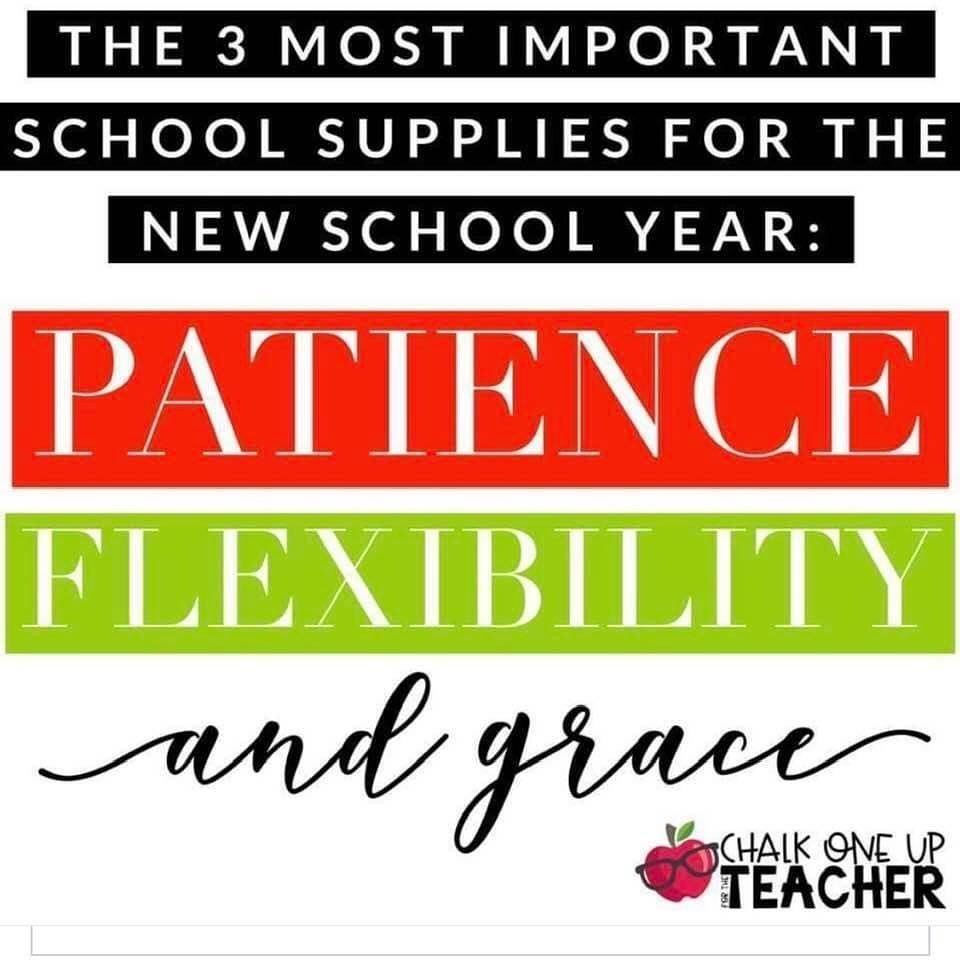 Including Universities Schoolsupplies School University Patience Flexibility Grace K12 Parents Tea In 2020 New School Year School Supplies School