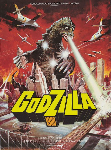 Vintage Godzilla Posters From Around The World Are Indescribably Awesome Godzilla Vs Movie Posters Vintage Horror Posters