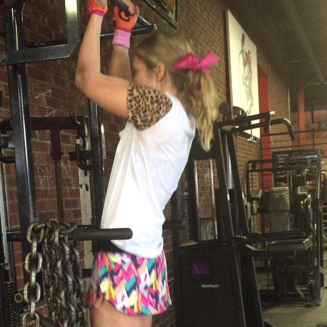 Because who ever said you can't train insane in a skirt?!