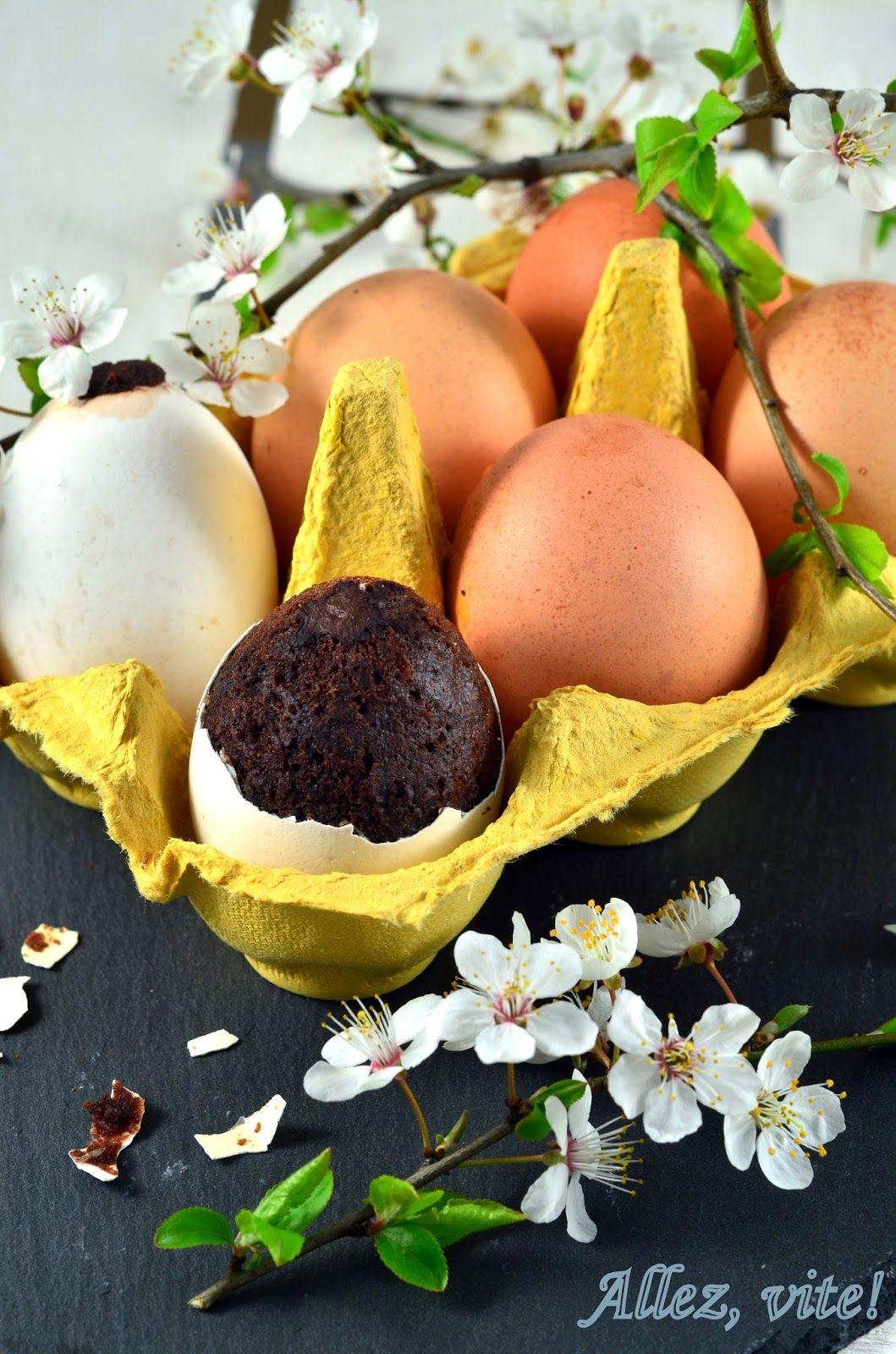 Kuchen Im Ei Easter Cake In Eggshells Kuchen In Der Eierschale