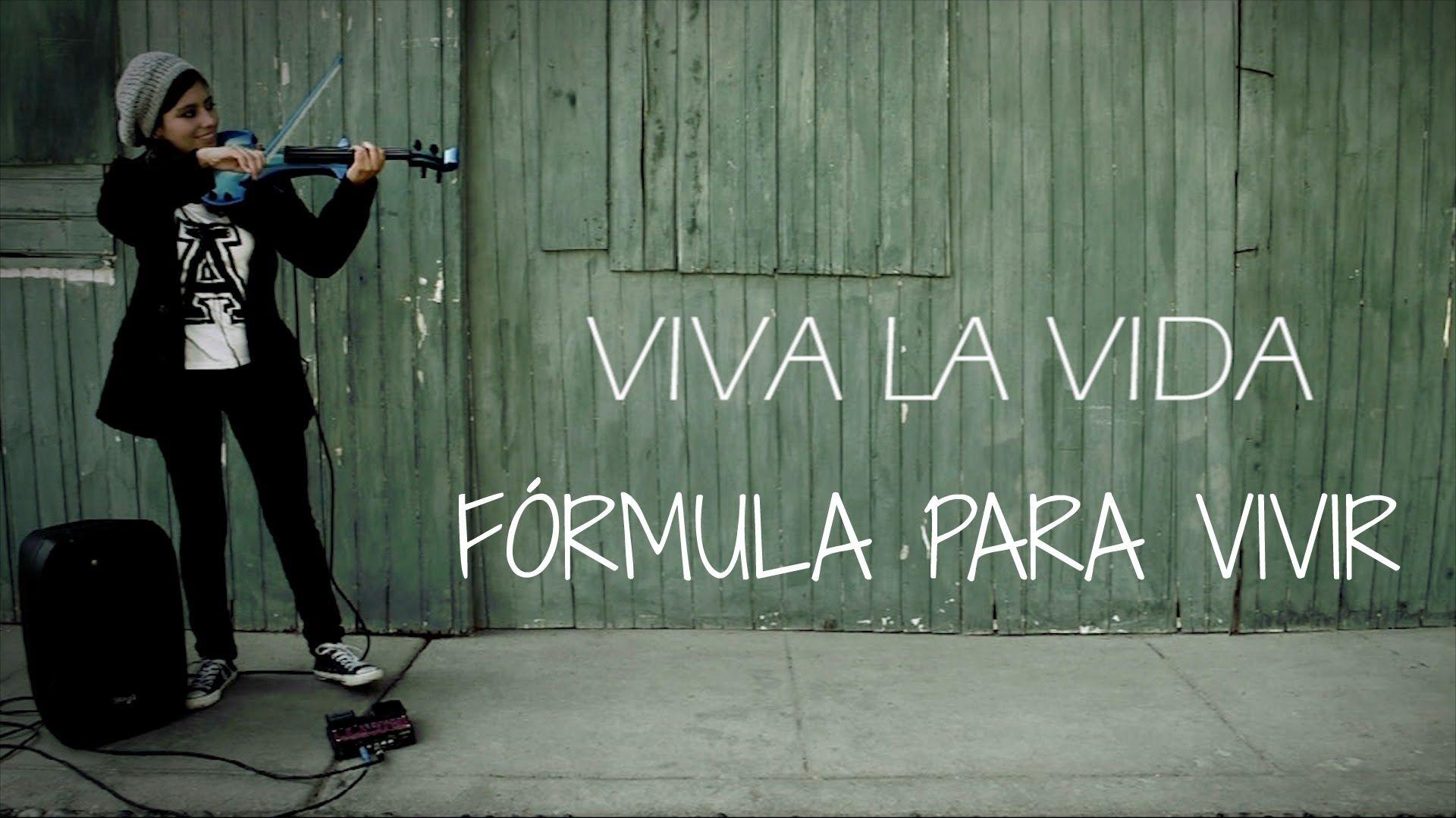 Viva La Vida Coldplay En Violin Electrico Con Frases