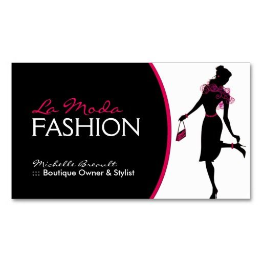 Stylish Fashion Designer Business Card | Discover more ideas about ...