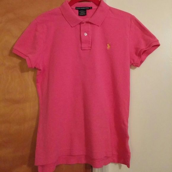 Women 39 s ralph lauren cute polo top guc looks super cute for Cute polo shirts for women