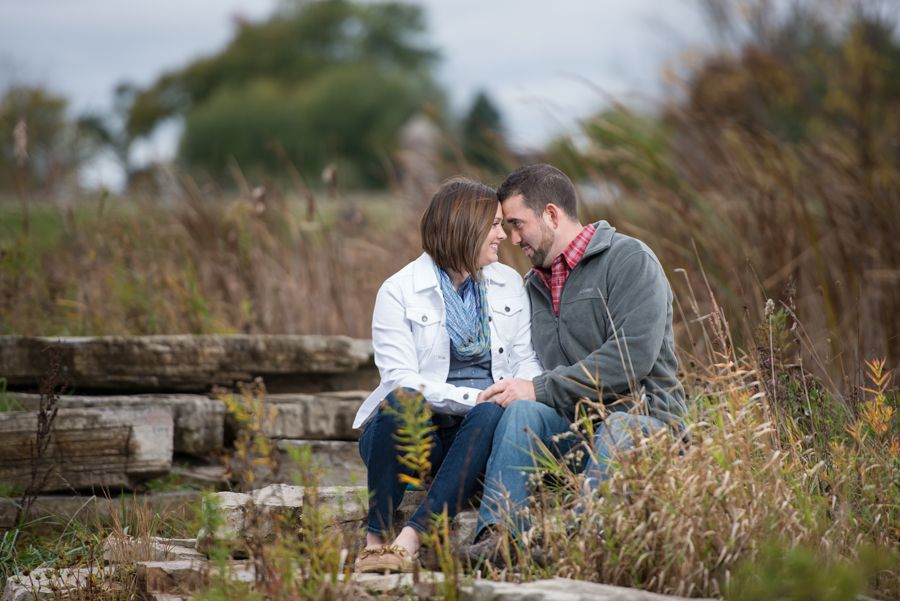 Engagement Pictures Fall Portrait Session Wedding Photography Northwest Indiana