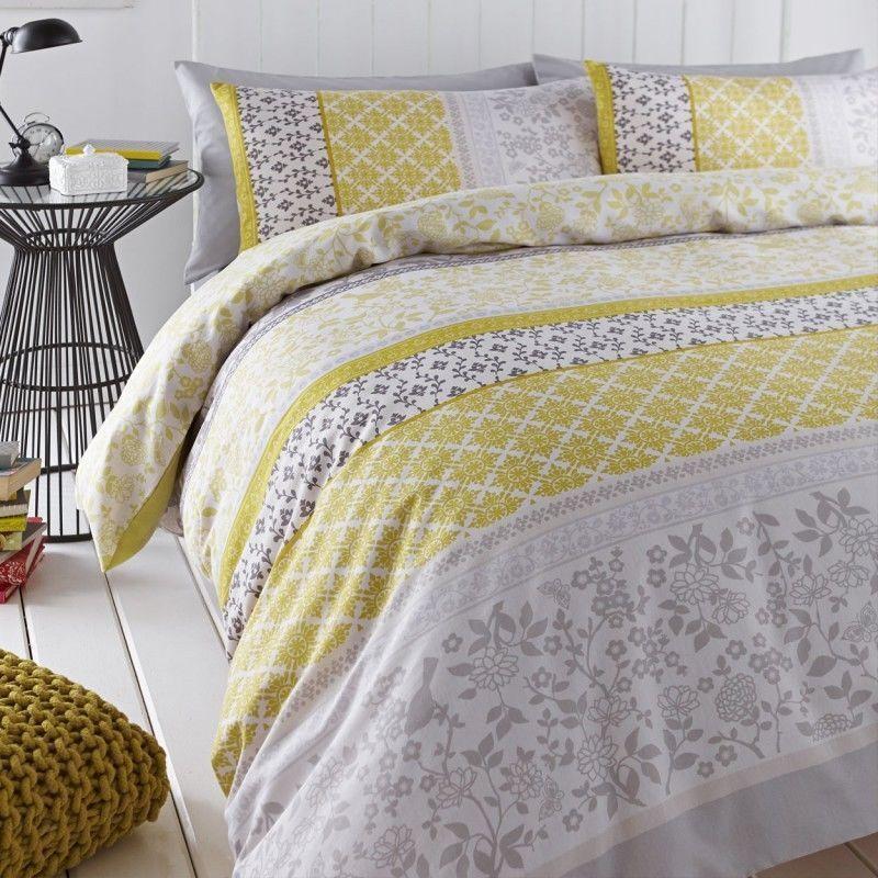 Oriental Birds Duvet Quilt Cover With Pillow Case Bedding Set Single Double King