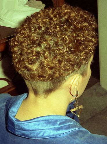 Permed Bowl Permed Short Amp Teased Permed Hairstyles
