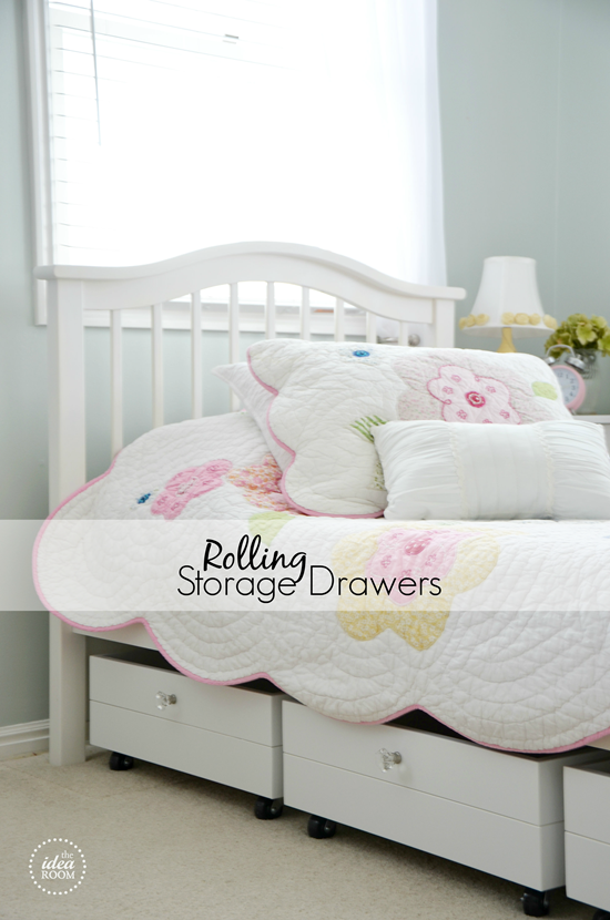 Build Some Rolling Storage Drawers To Go Under The Bed Or A Piece Of  Furniture.