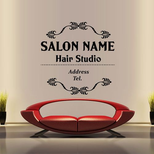 Spa Welcome To Sticker WD Spa Beauty Parlour Pinterest - Custom vinyl wall decals for hair salonvinyl wall decal hair salon stylist hairdresser barber shop