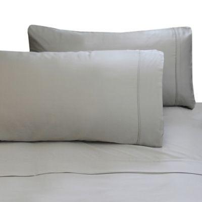 Blue Lagoon NEW Cariloha Bamboo Linen Cotton Blend Duvet Cover Set King Size