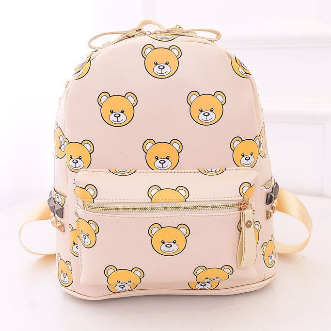 Bear backpack Cute Kawaii Harajuku Fashion Clothing  Accessories - clothing sponsorship
