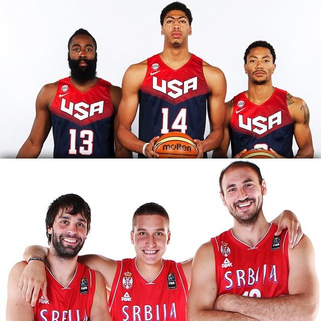 The 2014 Fiba Basketball World Cup Gold Medal Game Is Set Usabasketball Vs Serbia Sunday At 3pm Et On Espn2 Team Usa Basketball Usa Basketball Team Usa