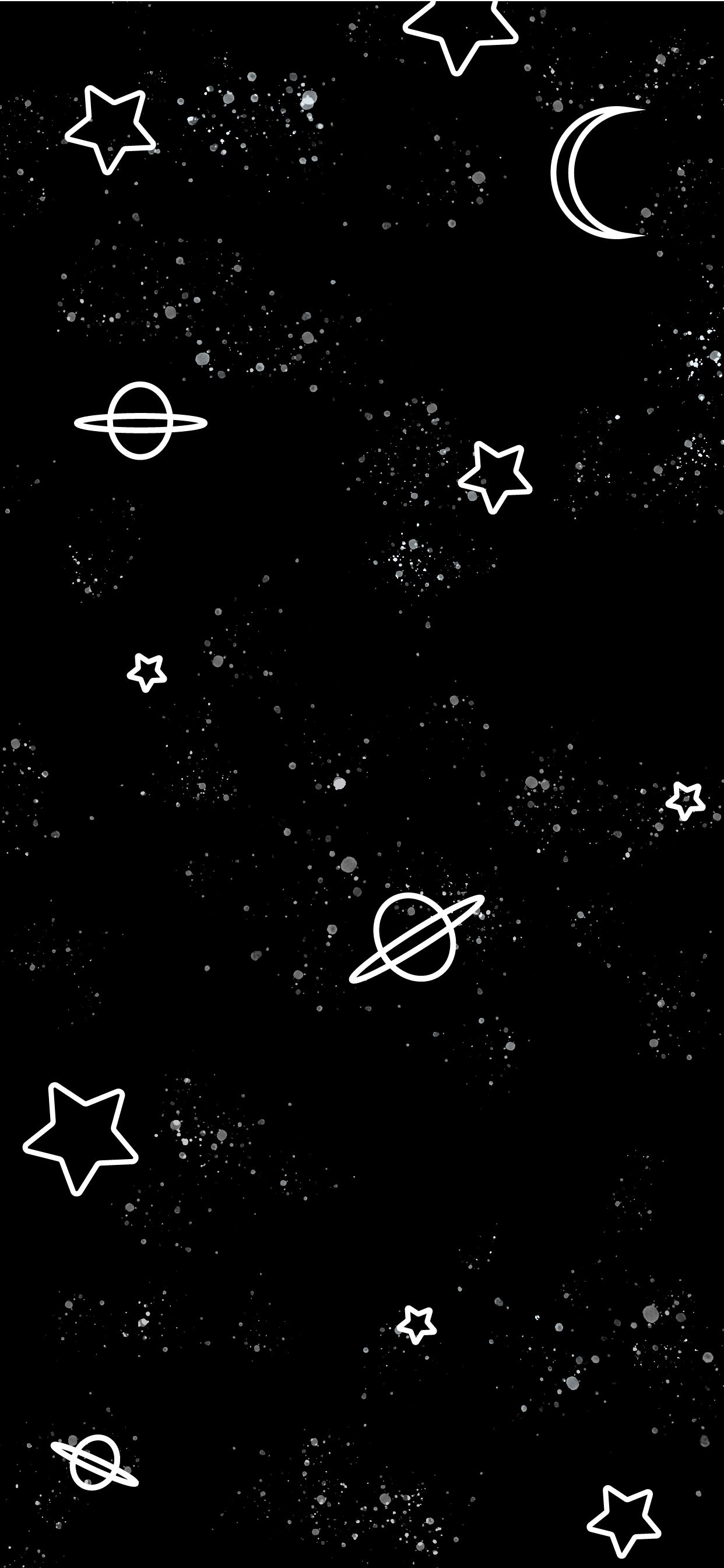 Cute Outer Space Star Galaxy Iphone Wallpapers And Backgrounds