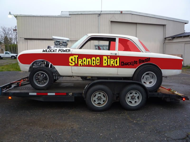 Strange bird gasser by chuckles garage 1962 ford falcon for Garage ford 62