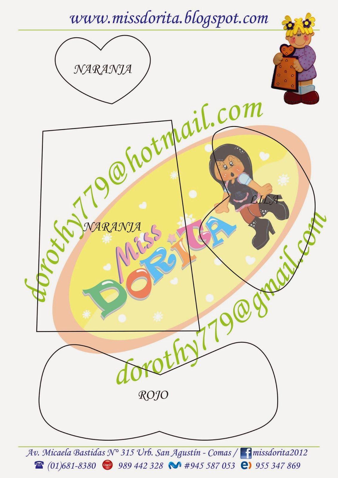 Miss Dorita: Moldes Niños con Vocales