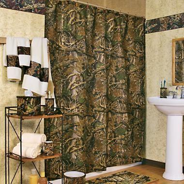 . Camouflage Bathroom Decor  Camo Bathroom Decor Ideas   Shower
