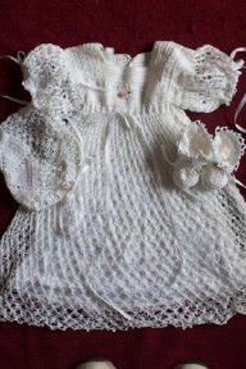 Free Crochet Christening Layette Patterns Free Crochet Pattern For