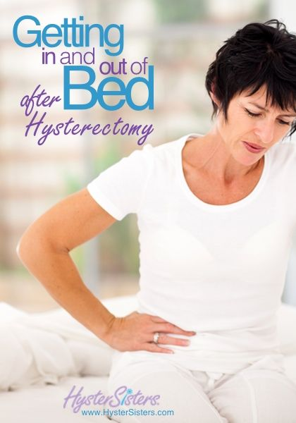 Getting In And Out Of Bed After Hysterectomy Hysterectomy Recovery Article Hystersisters Hysterectomy Hysterectomy Recovery Partial Hysterectomy