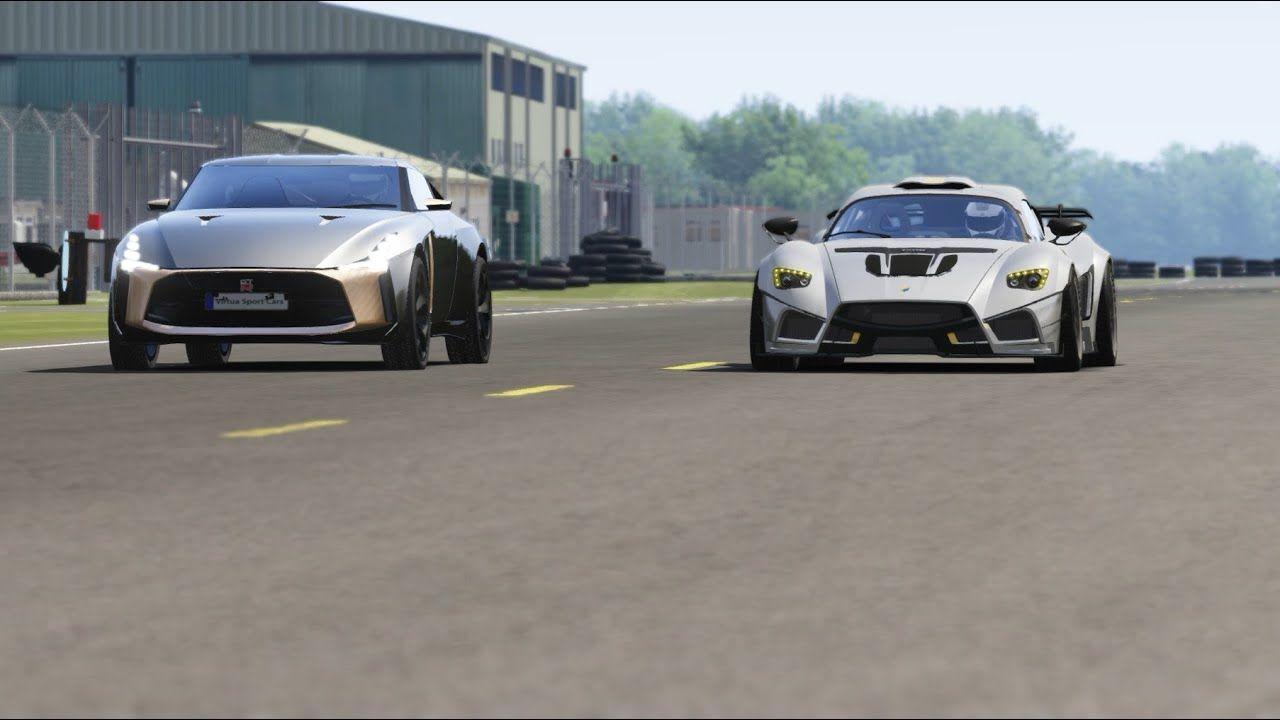 Nissan GT-R50 Italdesign vs Mazzanti Evantra Millecavalli at Top Gear