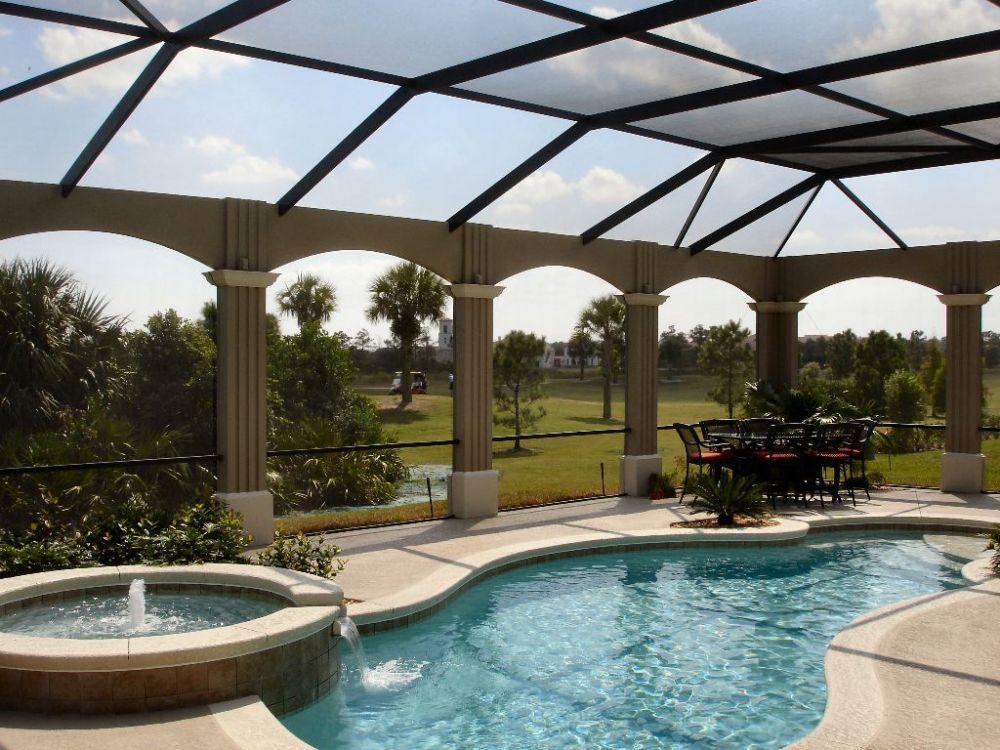 Swimming Pool Screen Enclosure More