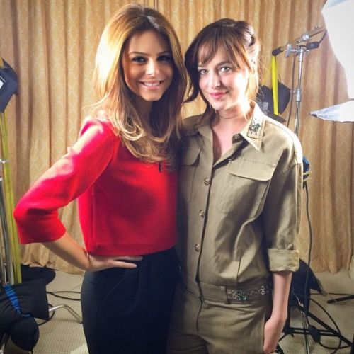 mariamenounos Love this girl-she was absolutely perfect and… | Jamie Dornan News