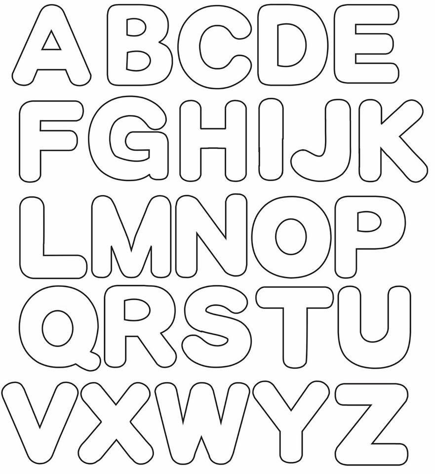 Molde Centro De Mesa Nuvem Parte 2 3 Modelos De Alfabeto Letras