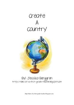 Create a Country Map Projects asks students to construct a map ...