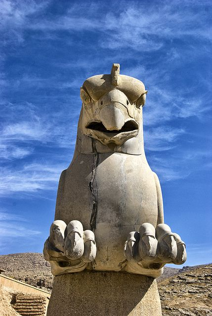 Griffin Persepolis Iran Persian Architecture Ancient Persian Ancient Persia