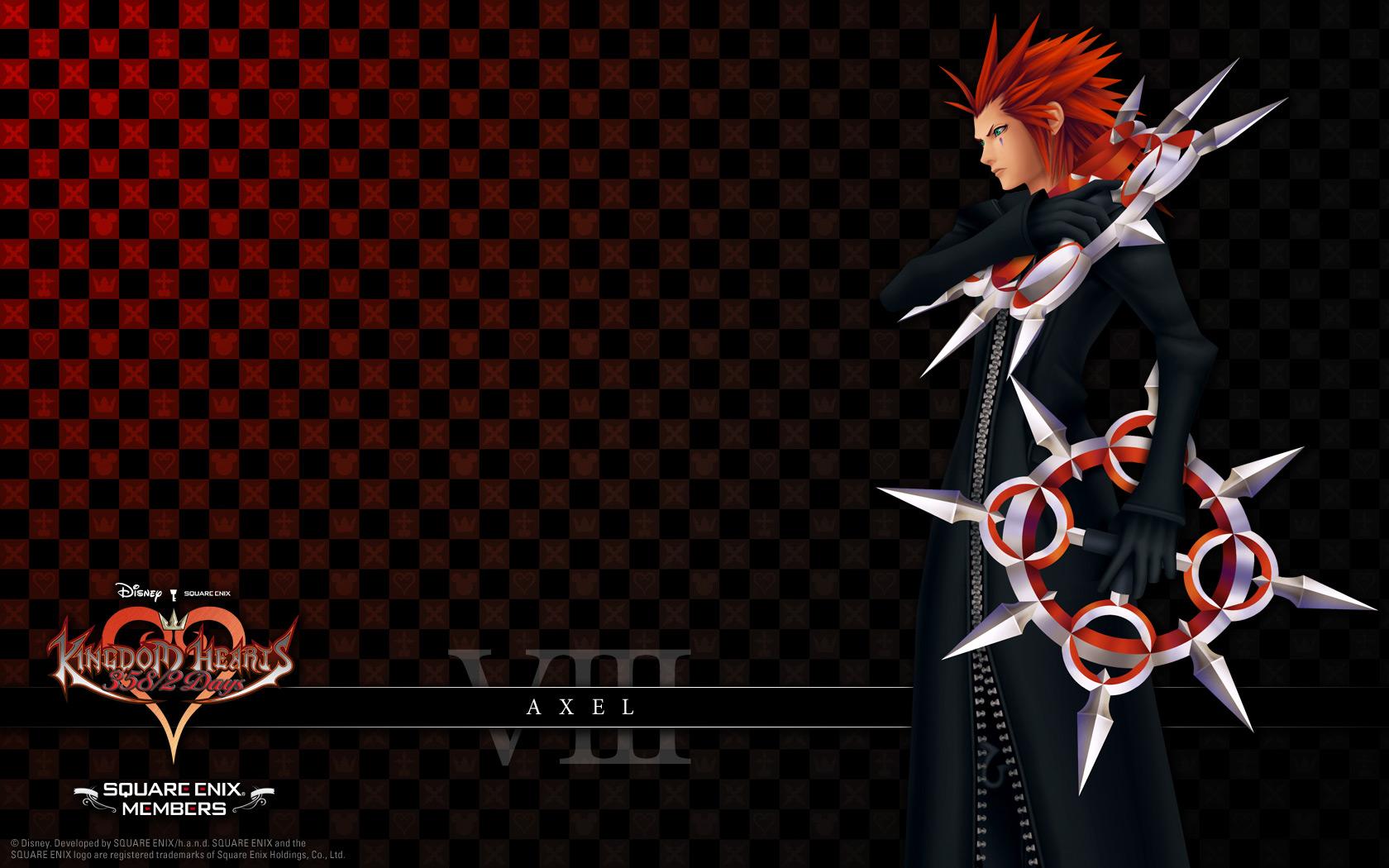 Organization Xiii Members Imagen Kingdom Hearts 358 2 Days Organization 13 Member Viii Axel Kingdom Hearts Kingdom Hearts Wallpaper Kingdom Hearts Hd