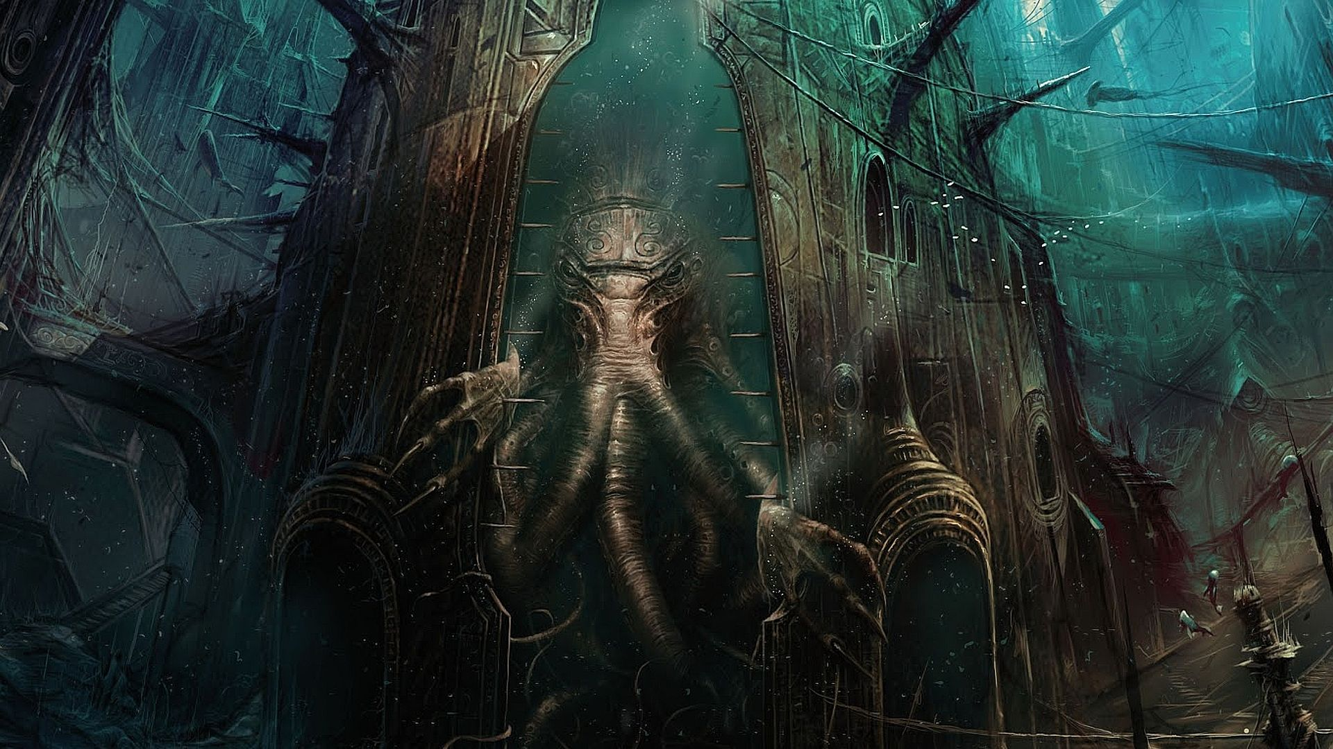 Yog Sothoth Is A Cosmic Entity In The Cthulhu Stories Of H P Lovecraft Description From Darrenendymion Wordpress Com I Sear Lovecraftian Cthulhu Cthulhu Art