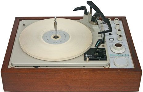 This Is The Klh Turntable I Had In High School To Listen To