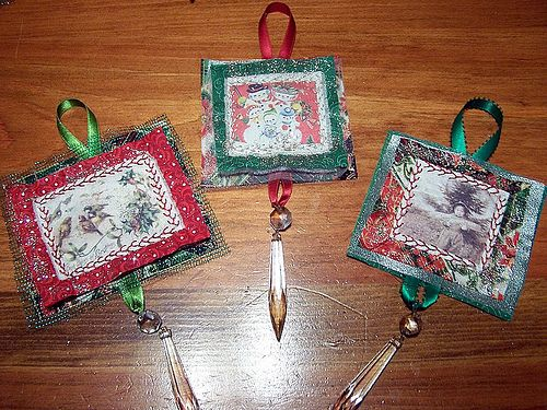Quilted Christmas Ornaments | Quilting | Pinterest | Quilted ... : quilting christmas ornaments - Adamdwight.com
