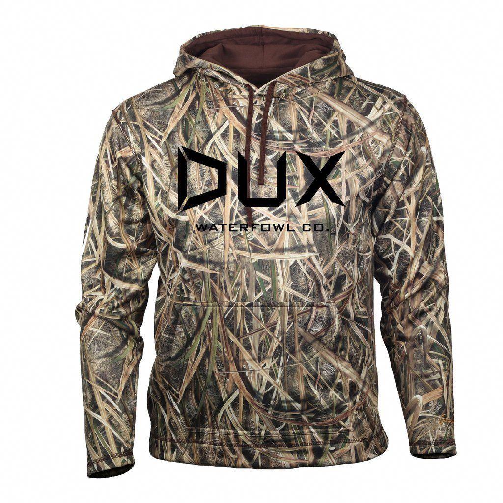 DUX Waterfowl Co. Camo Hoodie #waterfowlhunting