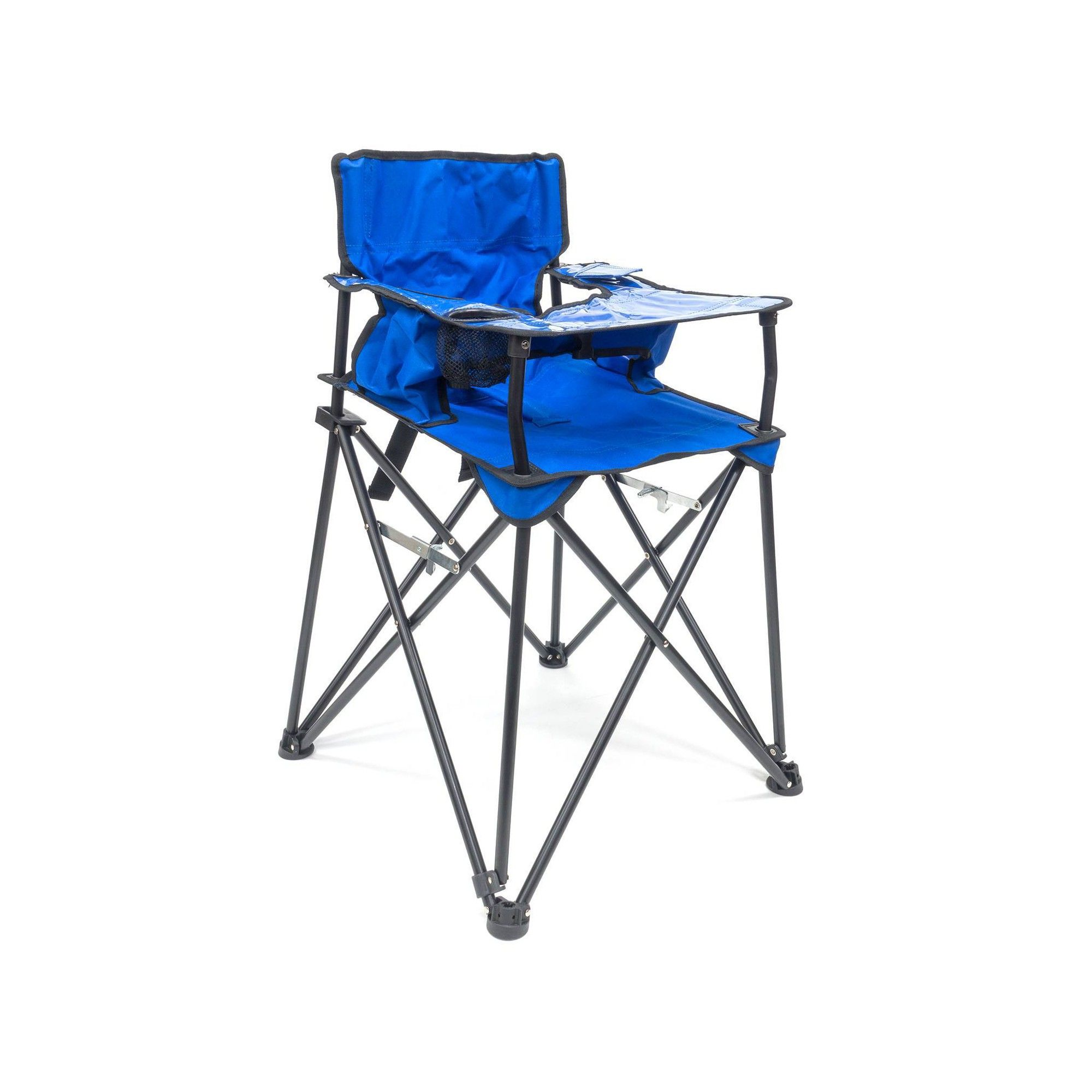 Creative Outdoor Distributor Baby High Folding Chair Blue Folding High Chair Folding Chair Baby High Chair