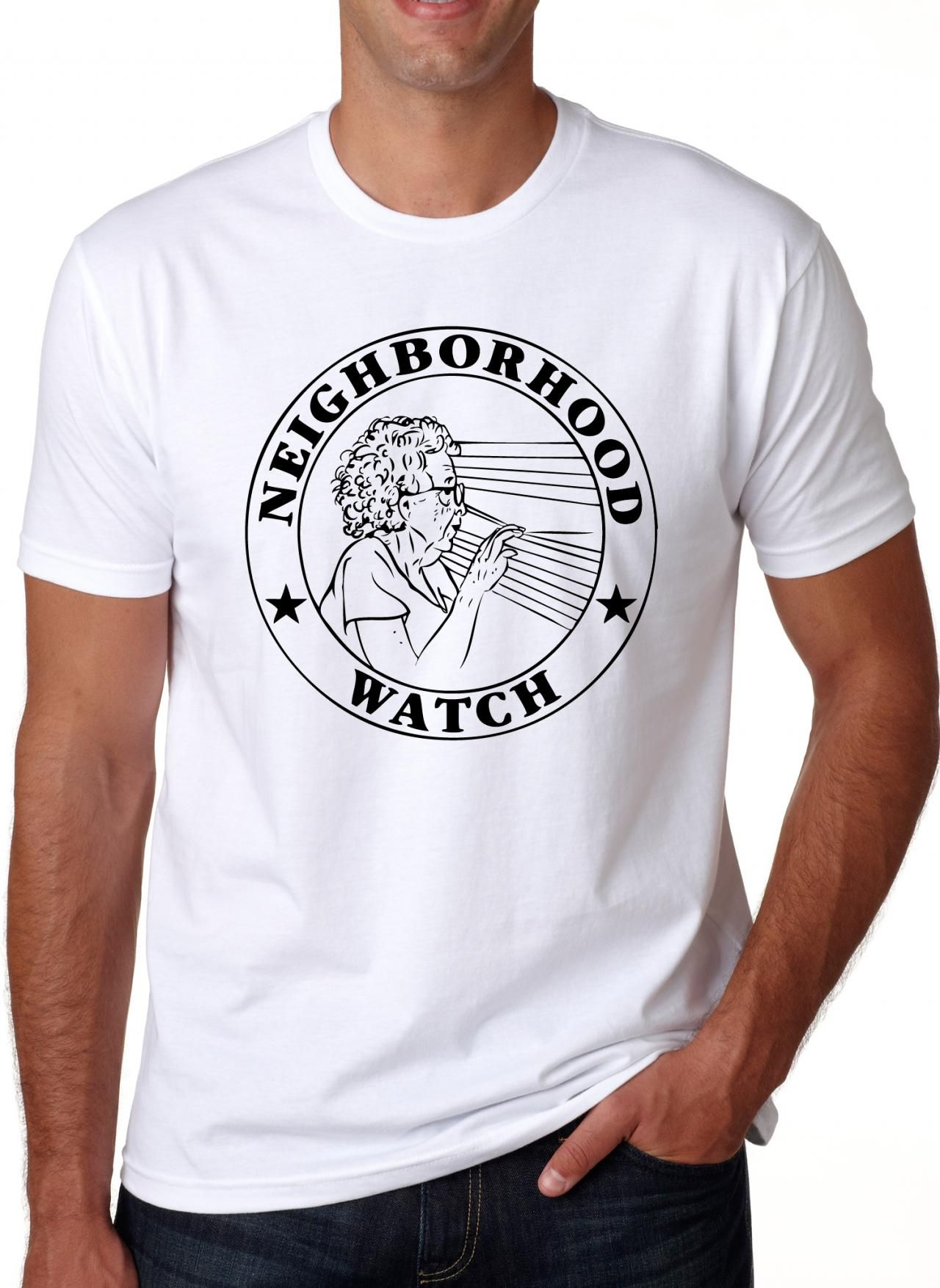 ddd01c4c691 Neighborhood Watch T Shirt Funny Shirt S-3XL