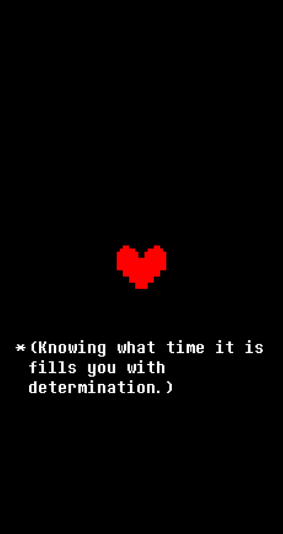 Undertale Determination Iphone Wallpaper By Sugoisenpai42 On